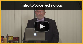 voice technology lecture video